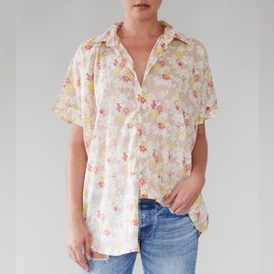 Acacia Swimwear Mombasa Shirt in Cherry Blossom